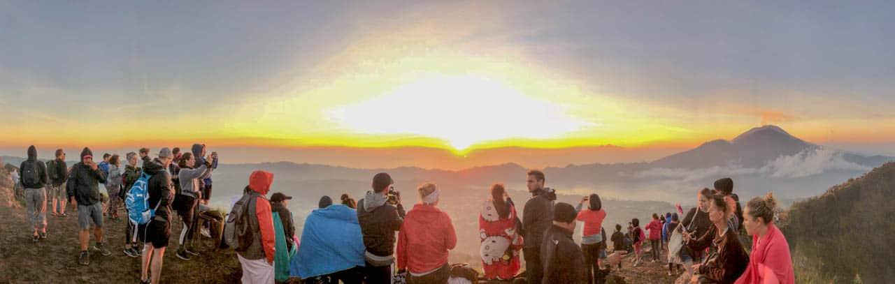 Sonnenaufgang am Mt Batur