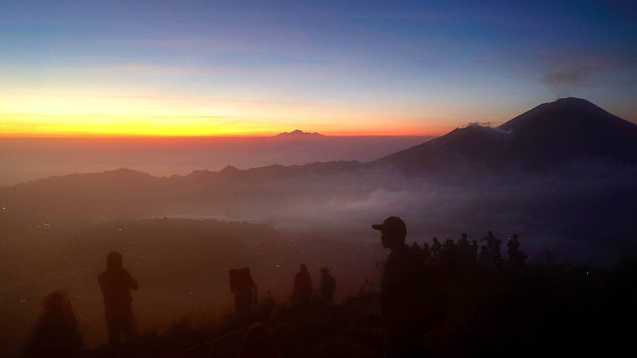 Indo-Quickie Teil 2: Trekking-Tour Mt. Batur