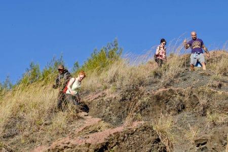 Abstieg vom Mt Batur