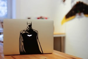 Batman: Apple Decal