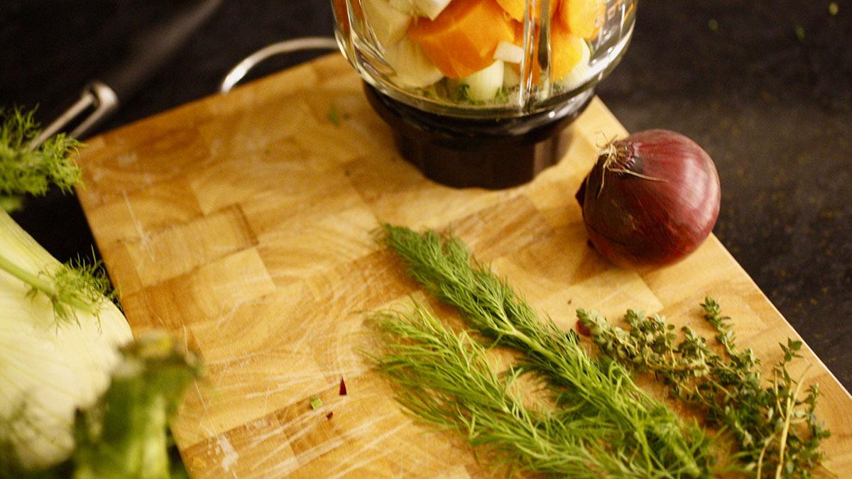 Rezept für leckeres Fenchel-Möhren-Gemüse