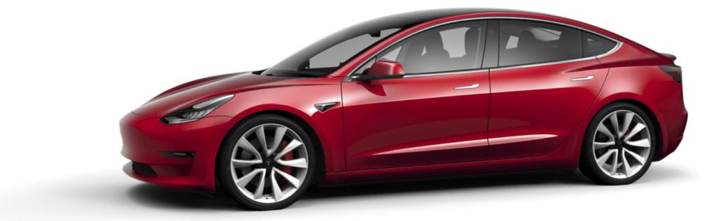 Tesla Model 3 Red Multi-Coat